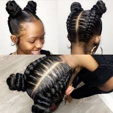 different hair buns these glam braids buns styled by lastylist