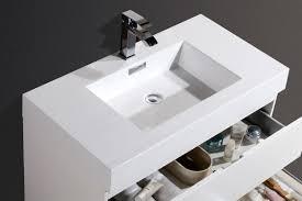 36 Modern Bathroom Vanity by Wade Logan Tenafly 36