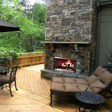 accessories fetching outdoor living space design with brick