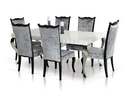 black lacquer dining room furniture mia modern white lacquer dining table
