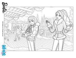 barbie perfect christmas coloring pages skipper 212522 coloring