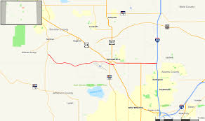 Boulder Zip Code Map by Colorado State Highway 128 Wikipedia