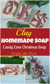 candy cane clay soap recipe simple life mom