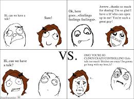 Bf Gf Memes - ragegenerator rage comic bf vs gf feels
