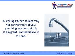 the west palm beach plumber u0027s manual on how to fix a leaky kitchen fa u2026