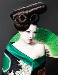 Geisha Hairstyles 107 Best Artistic Hairstyles Images On Pinterest Hairstyles