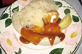 schlesische küche schlesische weißwurst mit biertunke schlesische küche polnisch