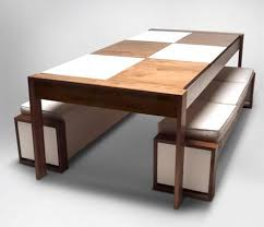 Bench Dining Tables Dining Room Amusing Dining Table With Benches Kitchen Table Bench