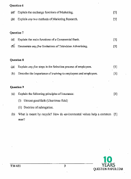 icse 2016 commercial studies class 10 board question paper 10