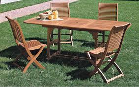 di legno per giardino tavolo alabama in legno da giardino rettangolare estendibile cm