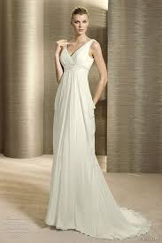 grecian wedding dresses simple grecian wedding dress
