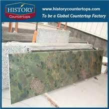 historystone pebble green granite bathroom countertops custom