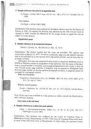 apa format appendix sample format