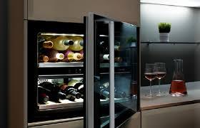 cave a vin dans cuisine cave à vin norcool mon projet cuisine
