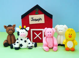 farm cake toppers 111 best fondant boerderij images on cakes