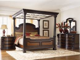 king canopy bedroom set black with storage elegant editeestrela