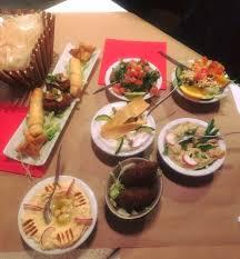 la cuisine libanaise superbe mezzé pour faire découvrir la cuisine libanaise photo de