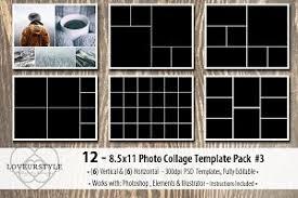 8 5 x 11 photo album 8 5x11 mood board photo templates magazine templates creative