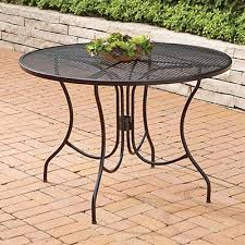 Iron Outdoor Patio Furniture Outdoor Metal Patio Tables Patio Furniture Conversation Sets