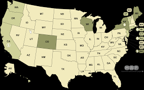 Virginia United States Map by Movement Advancement Project Family Leave Laws