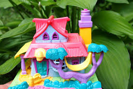 polly pocket 1990s pink paperdoll