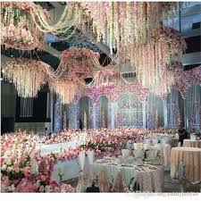 Wedding Arch Garden 2017 Artificial Hydrangea Wisteria Flower Diy Simulation Wedding
