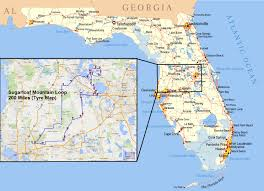 Bartow Florida Map by Hiking The Florida Trail Florida Hikes Map Of Southern Florida