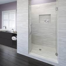 900 Shower Door Vonse Frameless 3 8 Inch Glass Swing Shower Door Basco Shower Doors