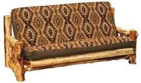 sofa mesmerizing lodge futon frame mattress contemporary futons