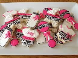 zebra print baby shower cookies baby shower cookies zebra print