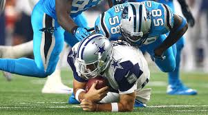 panthers win tony romo injury doom cowboys season si