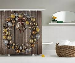 large ornaments in silver and gold