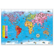 World Map South America by Seven Continents Map Elementary Printable Continents Map Puzzle