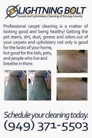 upholstery cleaning orange county lightning bolt carpet upholstery cleaning of orange county