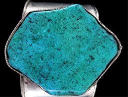 turquoise stone navajo large turquoise stone bracelet