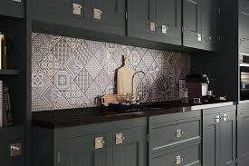 kitchen backsplash panels uk image for ted baker geotile patterned matt porcelain wall tiles