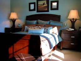 blue and brown home decor bedroom amusing brown living room blue accents home decor and