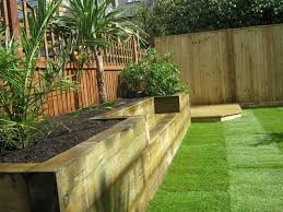 Railway Sleepers Garden Ideas Best 25 Sleepers Garden Ideas On Pinterest Railway Sleepers Garden