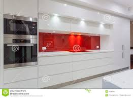 Minimalistic Interior Design Modern Minimalist Kitchen Stock Photo Image 43590564