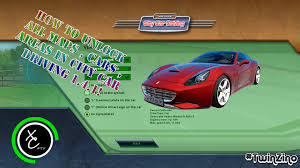 city car driving 1 4 1 tutorial how to unlock all maps cars