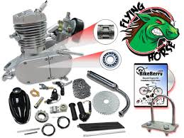 flying horse silver angle fire 48cc bicycle engine kit gas