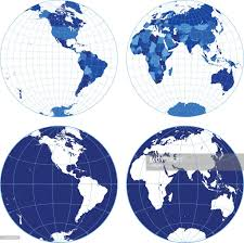 Vector World Map World Map With Graticules Vector Art Getty Images