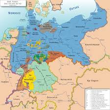 Berlin Germany Map by North German Confederation 1866 U20131871 Full Size