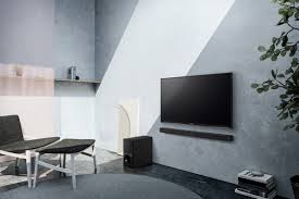 Home Theater Wall Units Amp Entertainment Centers At Dynamic Sony 2 1 Channel Soundbar System With Wireless Subwoofer And
