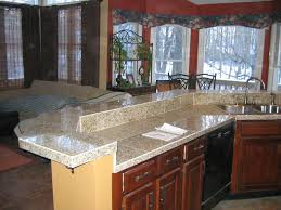Stone Backsplashes For Kitchens Granite Countertop Contrasting Kitchen Cabinets Faux Stone