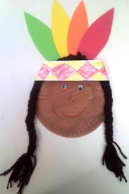 crafts for preschoolers paper plate native american november
