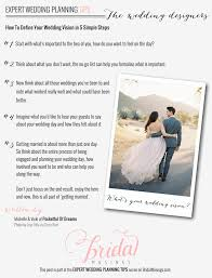 simple wedding planner wedding planning tips defining your vision by pocketful of dreams