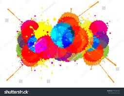 100 splash color paint vector abstract color splash