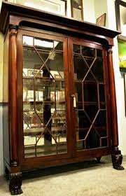 Mahogany Bookcase With Glass Doors Bookcases Chippendale Style Bookcase By Stein World My Will