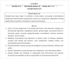 college student resume career objective student resume objectives free doc accounting resume objective